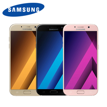 Samsung Galaxy A7 2017 5.7吋防水雙卡雙待智慧手機(黑色)