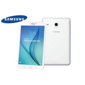 《Samsung》Galaxy Tab E T3777 LTE 8吋可通話四核心平板電腦(白色)