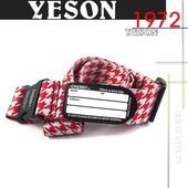 《YESON》寬版 行李箱 束帶-旅遊必備 台灣製造MG-915(紅)