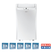 《HERAN 禾聯》6-8坪 冷暖移動式空調(HPA-35G1H)