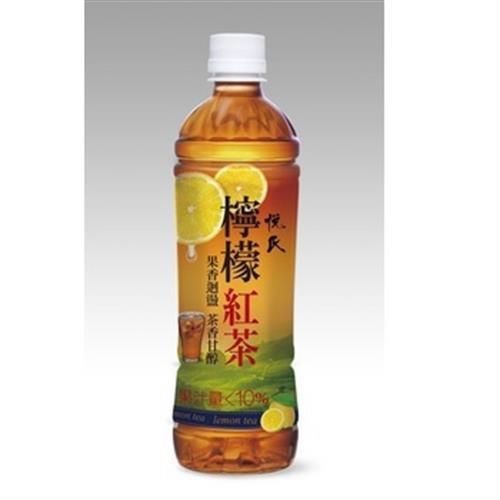 悅氏 檸檬紅茶(550ml/瓶)