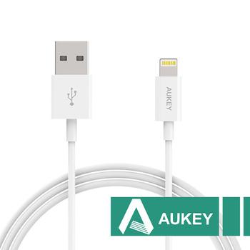 AUKEY Micro USB傳輸充電線2米(白色)