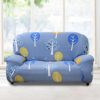 歐卓拉 小樹森林彈性沙發套 - 1入/2入/ 3入/1+2+3入(2人座)
