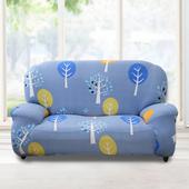 《歐卓拉》小樹森林彈性沙發套 - 1入/2入/ 3入/1+2+3入(3人座)
