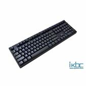 《ikbc》TD108/PBT/藍色背光 黑軸(黑色)