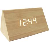 Led木製時尚鬧鐘(三角形)