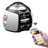 360-SPORT 360度全景VR運動攝影機(銀色)