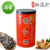 《御復珍》古早味杏仁茶6罐組 (無糖, 460g/罐)