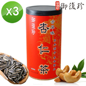 《御復珍》古早味杏仁茶3罐組 (無糖, 460g/罐)
