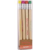 彩色造型鉛筆組4入(877084)