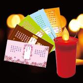 《派樂》擬真燭火水點燈 環保安全防水蠟燭燈(1支+祈福卡5張)