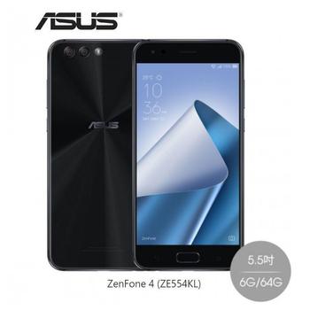 ASUS ZenFone 4 5.5 吋 FHD 4G LTE手機 (ZE554KL)(6G/64G)(星空黑)