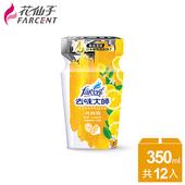 《花仙子》整箱購買【花仙子】去味大師消臭易檸檬350ml浴廁專用-12入(箱)