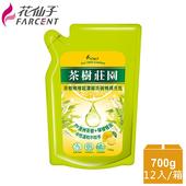 《花仙子》整箱購買【花仙子】茶樹莊園-茶樹檸檬超濃縮700g洗碗精補充包12入(箱)