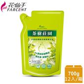 《花仙子》整箱購買【花仙子】茶樹超濃縮700g洗碗精補充包12入(箱)