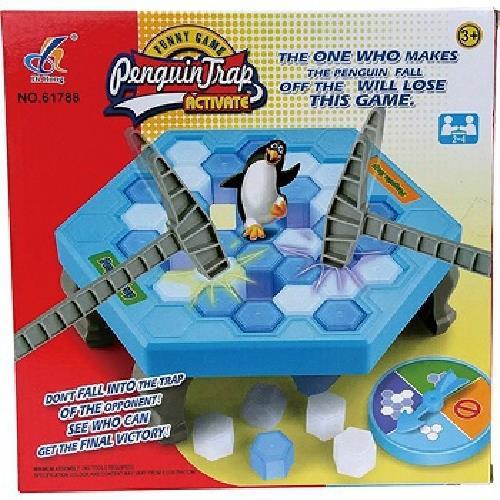 歡樂桌遊-敲敲樂  企鵝敲冰磚 拯救企鵝 破冰
