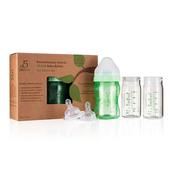 《菲斯》成長5階段寶貝體驗組- 玻璃內瓶*3+奶嘴*3+護套*1(120ml)