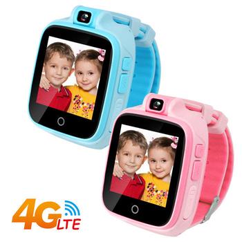 IS愛思 CW-04 4G LTE定位監控兒童智慧手錶(粉)