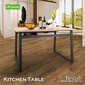 《DFhouse》《DFhouse》英式工業風-餐桌(柚木色)