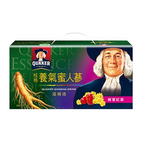 桂格 蜜人蔘滋補液禮盒(60mlx18瓶/盒)