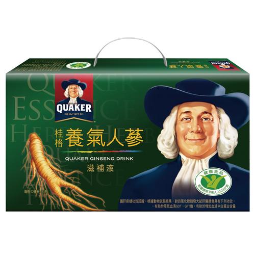 《桂格》養氣人蔘 免運(42毫升*24瓶/盒)