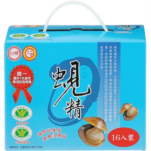 《台糖》蜆精(62cc*16罐/盒)