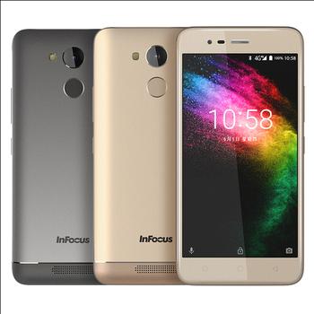 InFocus M5s (3G/32G) 5.2吋大電量平價機【贈-螢幕保護貼+清透保護套】(鉑光金)