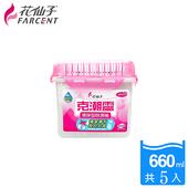 《花仙子》【花仙子】克潮靈除濕桶660ml-5入-玫瑰香(入)