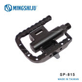《MINGSHIJU》名師車 SP-815 鋁合金SPD雙用踏板 自行車 專業踏板(黑色)