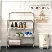 《莫菲思》一體成型四層鞋架