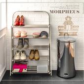 《莫菲思》一體成型五層鞋架