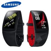 《Samsung》Gear Fit2 Pro SM-R365 藍牙GPS心律手環 運動手環(黑(大))