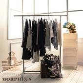 《莫菲思》莫菲思 不鏽鋼圓管單桿衣架