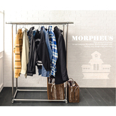 《莫菲思》莫菲思 超耐重不鏽鋼雙桿伸縮曬衣架(莫菲思 超耐重不鏽鋼雙桿伸縮曬衣架)