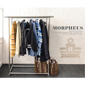 《莫菲思》莫菲思 超耐重不鏽鋼雙桿曬衣架
