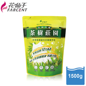 《花仙子》【花仙子】茶樹超濃縮1500g洗衣精補充包3入(入)
