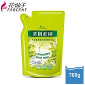 《花仙子》【花仙子】茶樹超濃縮700g洗碗精補充包4入(入)