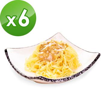 樂活e棧 低卡蒟蒻麵-燕麥涼麵(210g/包,6包組)(豆瓣醬)