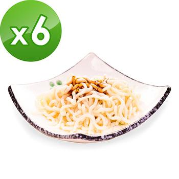 樂活e棧 低卡蒟蒻麵 燕麥拉麵(210g/包,6包組)(豆瓣醬)