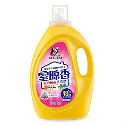獅王 室晾香洗衣精(元氣花果-2.6Kg)