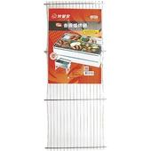 《妙管家》香腸爐烤網(59.5*24.6*0.8cm +/-3%不鏽鋼304)