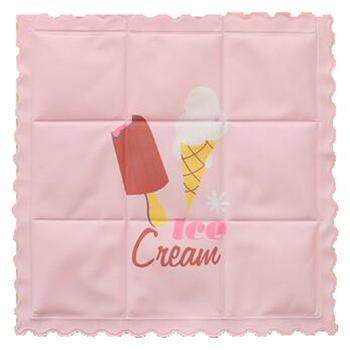 《莫菲思》清涼印花冰墊/冰枕(粉紅)