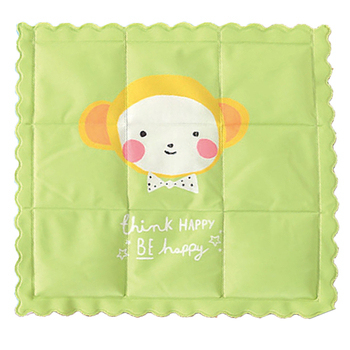 《莫菲思》清涼印花冰墊/冰枕(粉綠)
