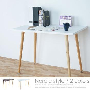 《Homelike》塔奇北歐風萬用工作桌(二色任選)(純白)