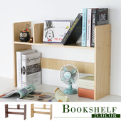 《Homelike》麥莉桌上型書架(二色任選)(楓木)