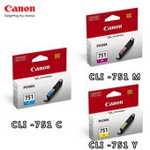 《CANON》CLI-751 C/M/Y原廠墨水組