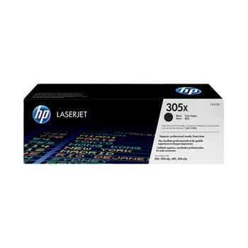 《HP》HP CE410X 原廠高容量黑色碳粉匣(305X)(CE410X)