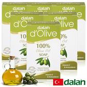 《土耳其dalan》頂級82%橄欖手工滋養皂(6入)買就送歐美香氛皂一入(隨機出貨)