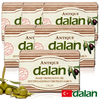 《土耳其dalan》頂級76%橄欖油傳統手工皂(6入)