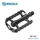 《MINGSHIJU》名師車 SP-101 自行車 專業踏板(黑色)